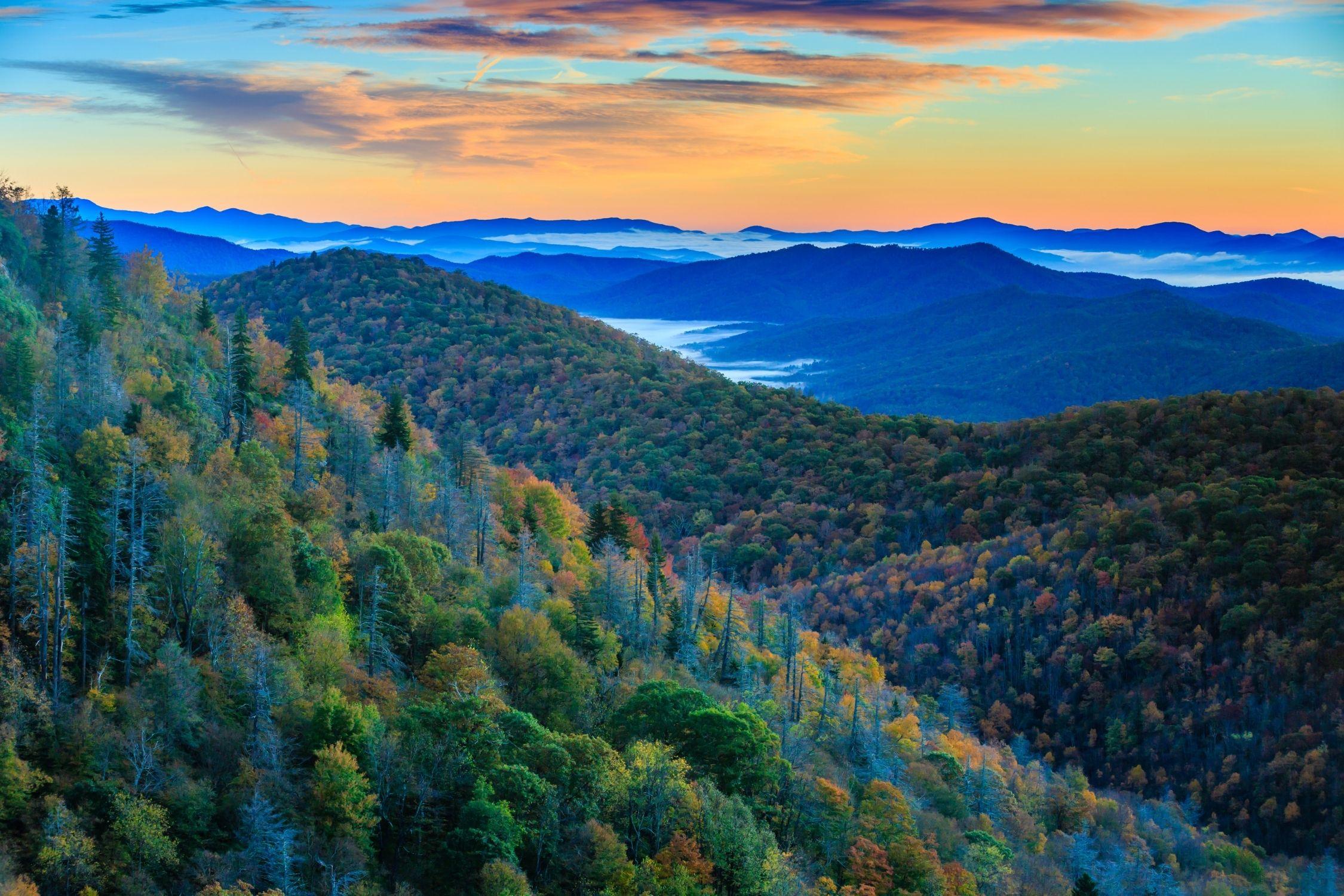 North Carolina National Parks - Smoky Mountains
