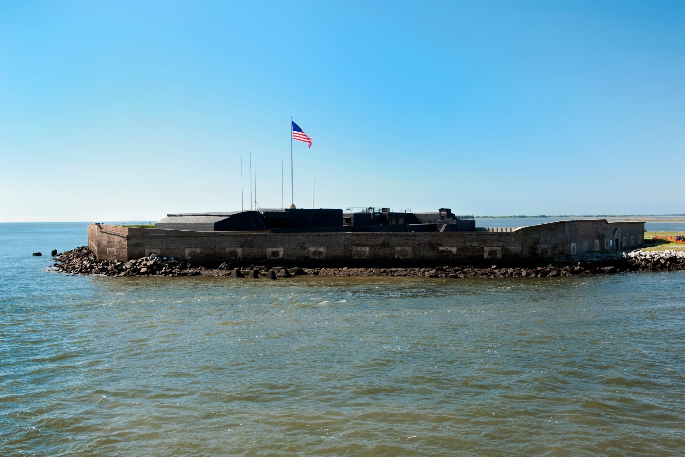 Fort Sumter During the Day