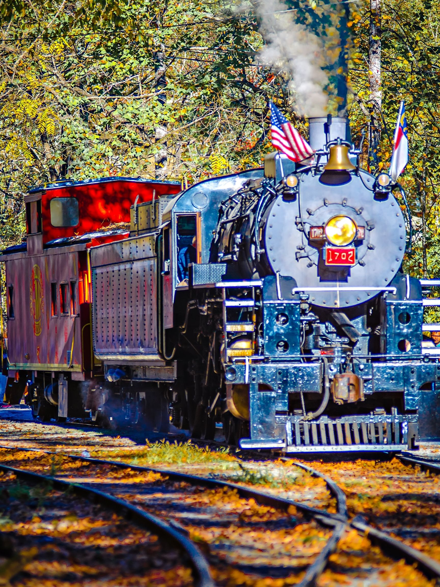 The Great Smoky Mountains Train One many great things to do in North Carolina