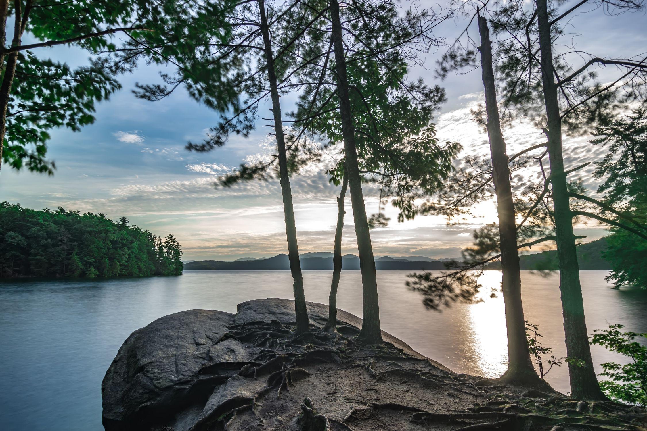 Shoreline Lake Jocassee
