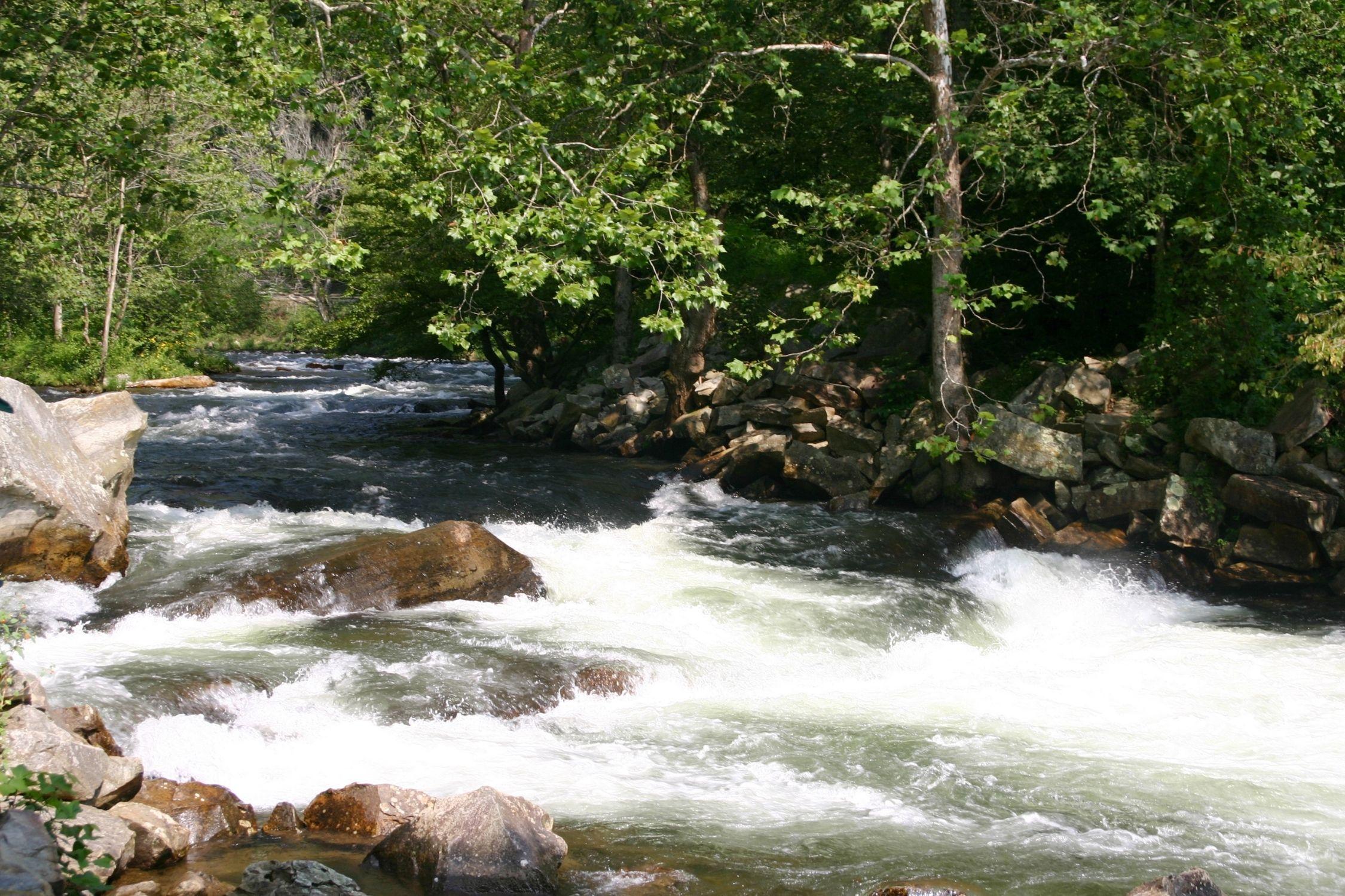 Rapids on the Nantahala River
