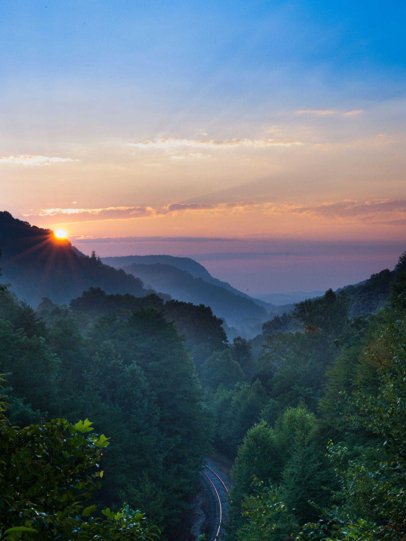 Saluda NC Sunset