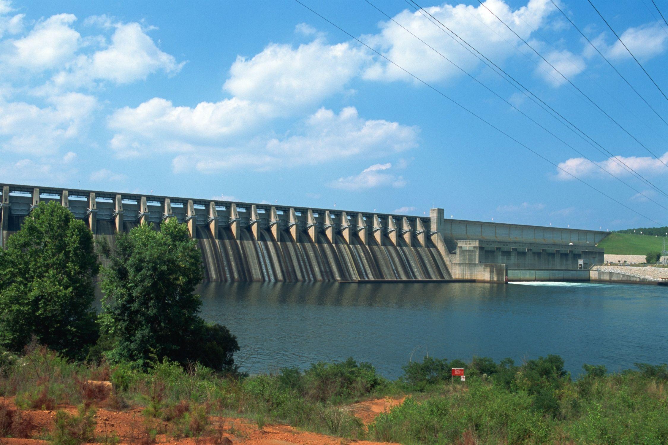 Lake Strom Thurmond Dam