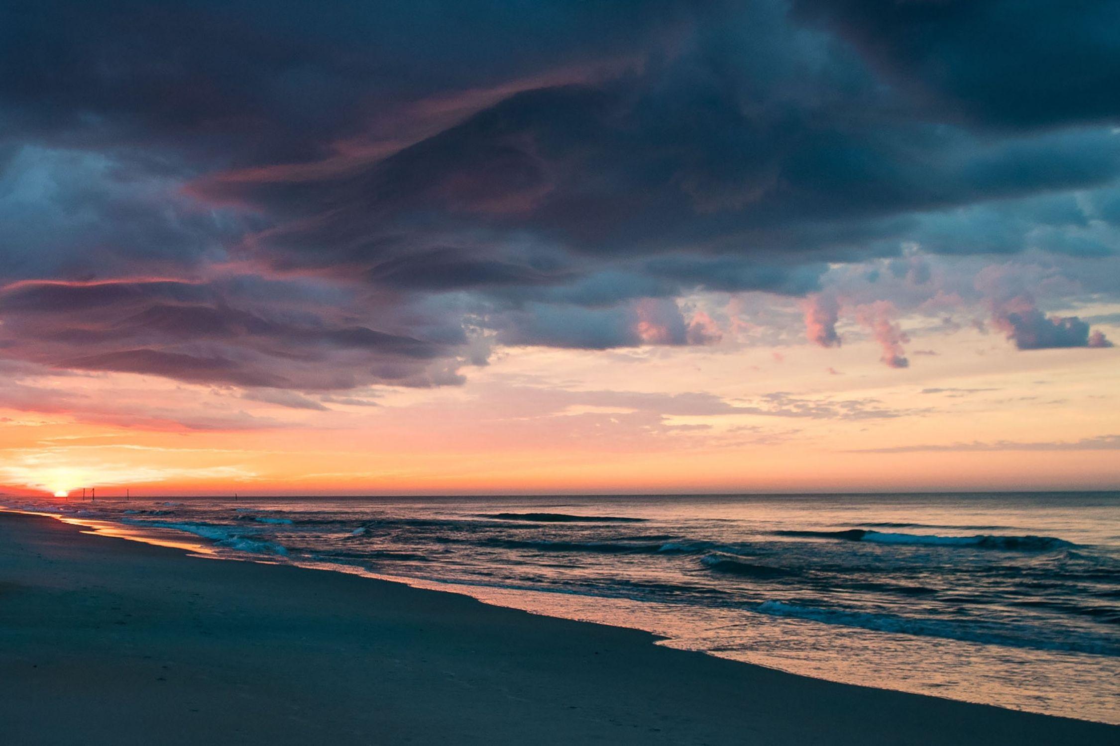 Sunrise on North Topsail