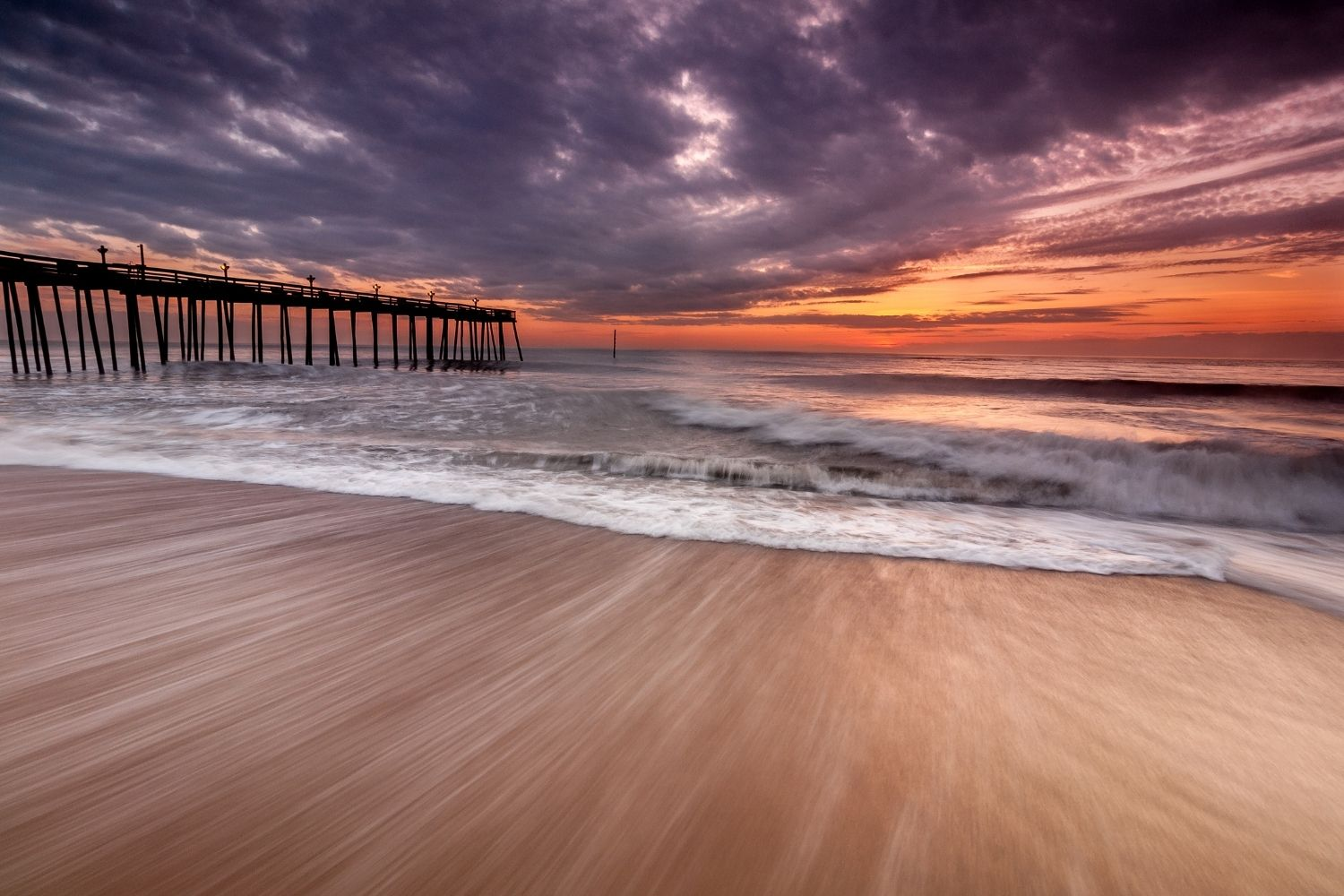 Kitty Hawk outer banks beaches
