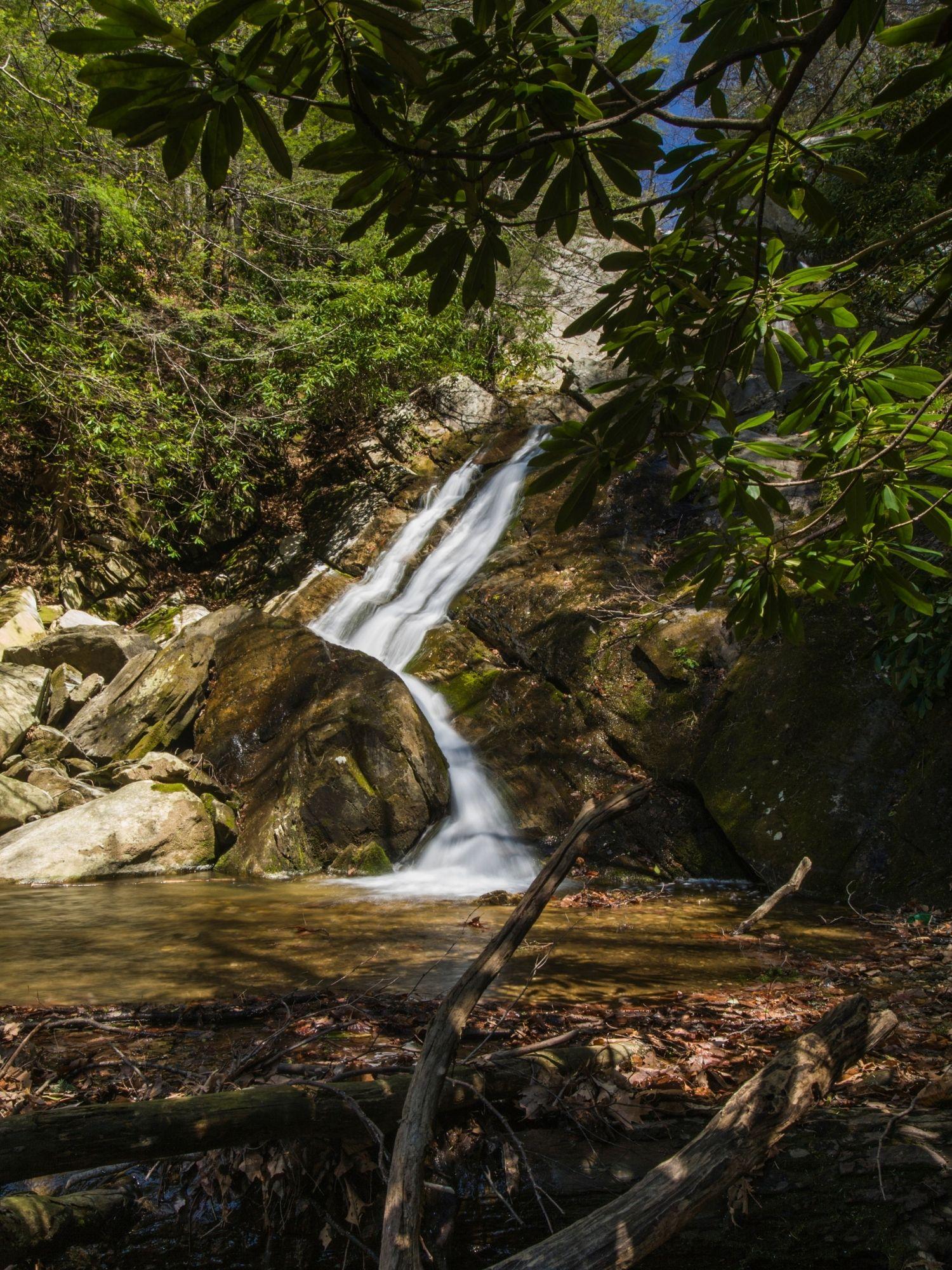 Glen Burney Trail waterfall