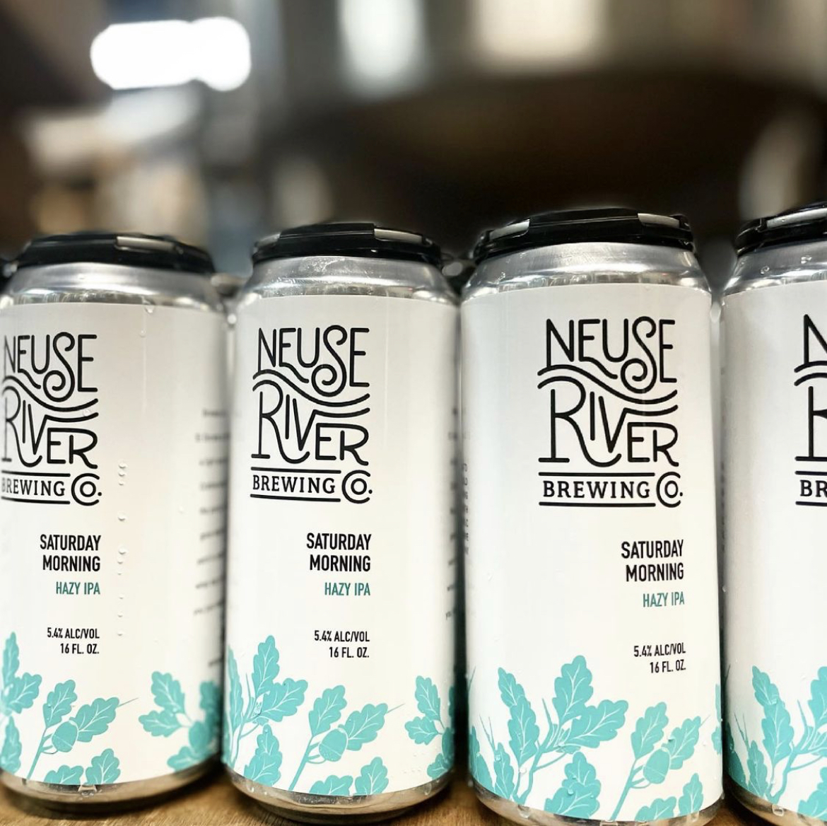Beer Cans at Neuse River Brewing & Brasserie