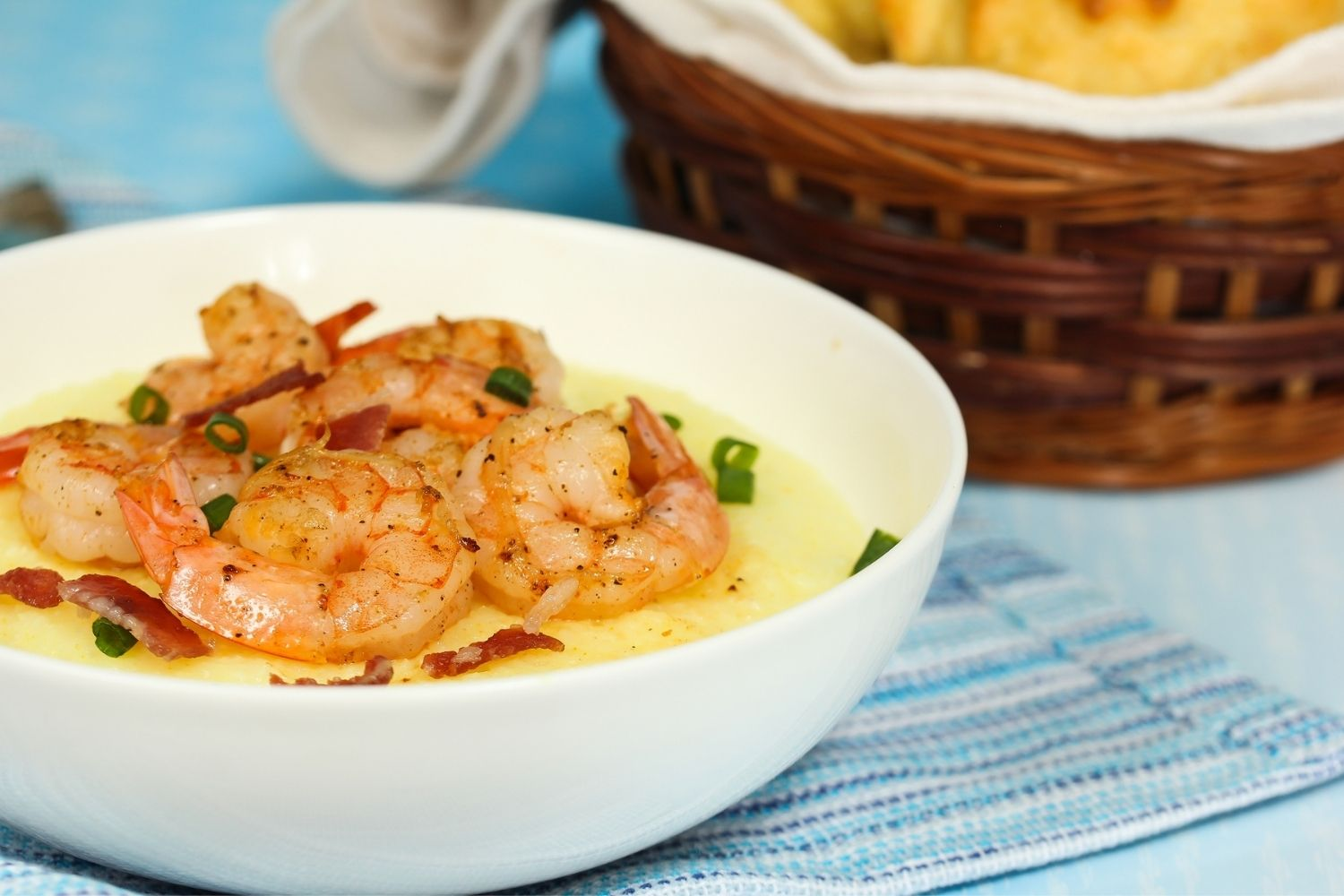 Shrimp and Grits at Red Rooster Cafe is one of the best restaurants in Beaufort