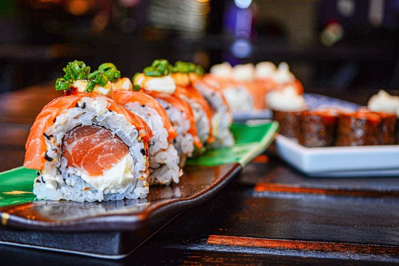 Sushi at Papaya Thai And Sushi Bar